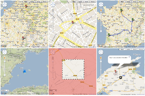 EGMap Google Maps Extension for Yii