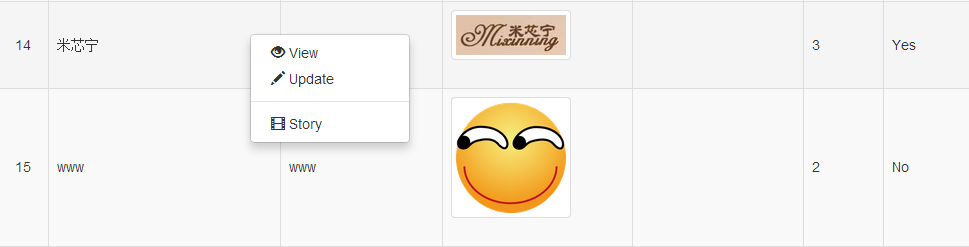 http://www.yiiframework.com/extension/yii2-contextmenu/files/yii2-contextmenu-2.png